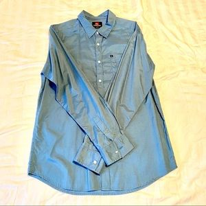 Quicksilver Button Down Shirt
